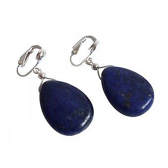 Kolczyki srebrne kolczyki lapis lazuli 925 sterling silver MAREIKE