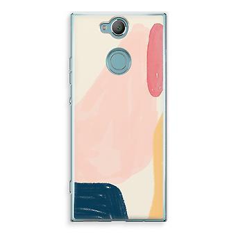 Sony Xperia XA2 Transparent Case (Soft) - Saturday Flow