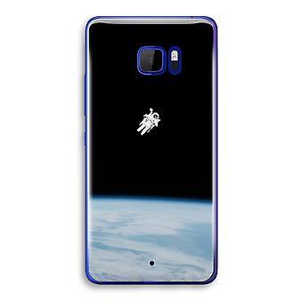 HTC U Ultra Transparent Case (Soft) - Alone in Space