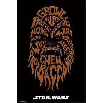 Star Wars - Chewbacca Poster Print
