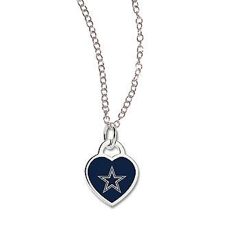 Wincraft dames Heart Necklace - NFL Dallas Cowboys