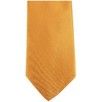Bassin en de vlakte van de bruine zijden stropdas - geel/groen