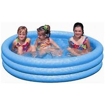 Intex zwembad blauw 147x33cm