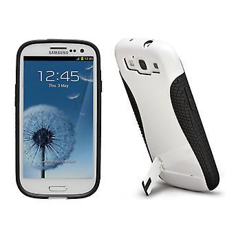 Case-Mate Pop! 2 Case for Samsung Galaxy SIII (White/Black)