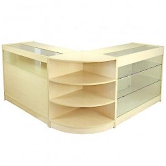 Aquarius Maple Shop Counters & Retail Display