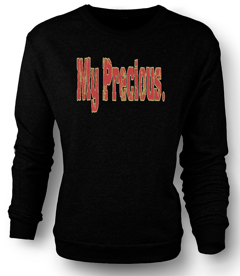 Mens Sweatshirt Gollum: My Precious - Quote