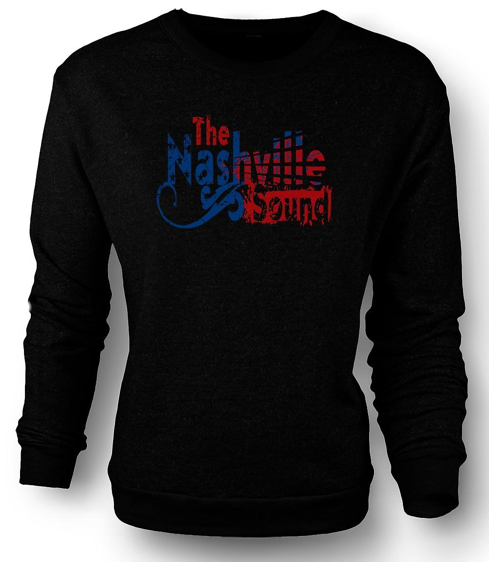 Heren Sweatshirt Nashville Sound - Blues Country muziek