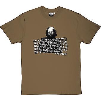Allen Ginsberg Men's T-Shirt