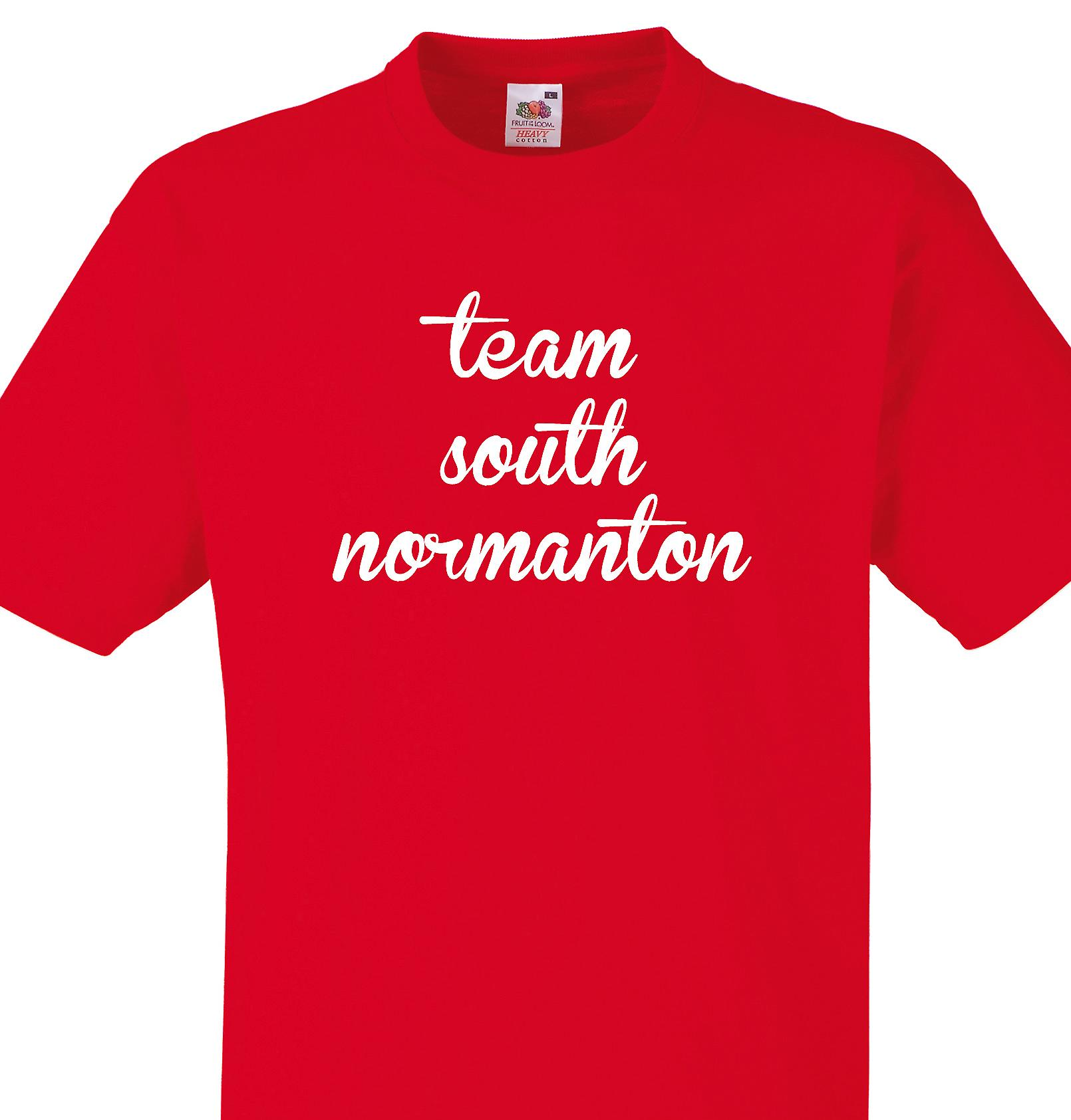 Team South normanton Red T shirt