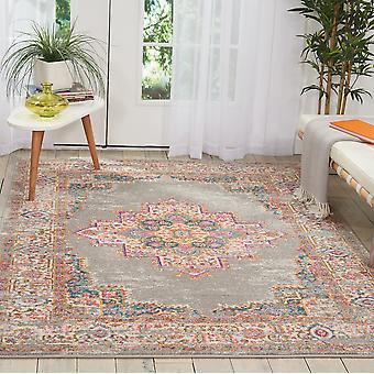 Passion Nourison PSN03 Grey  Rectangle Rugs Funky Rugs