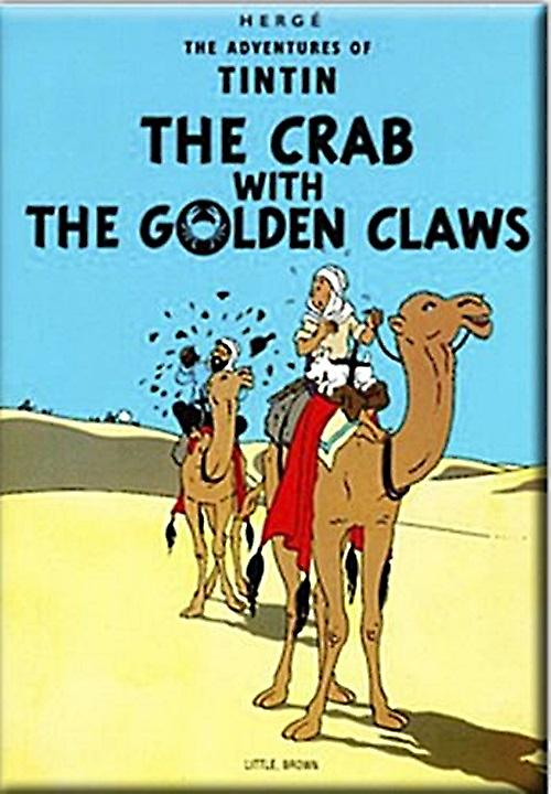 Tintin The Crab with Golden Claws fridge magnet (rr)