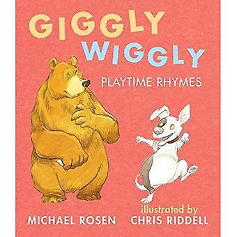 Wiggly risonha: Playtime rimas [livro de placa]