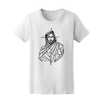 Jezus Christus en A Cross Tee mannen-beeld door Shutterstock