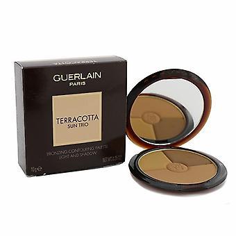 Guerlain Terracotta Sun Trio Bronzing Konturierung Palette - tief - 10g/0,35 oz