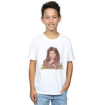 T-Shirt fille de Pennytees garçons Jesse