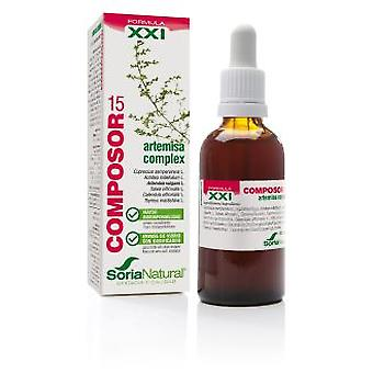 Soria Natural Composer 15 Artemisa Complex Siglo XXI (Herboristeria , Natural extracts)