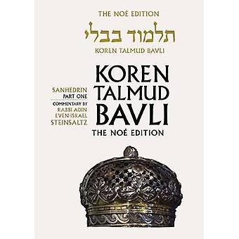 Koren Talmud Bavli - Sanhedrin Part 1 - English - v. 29 - 9789653015906
