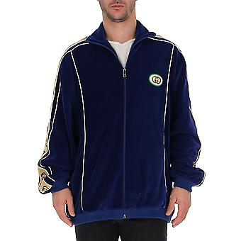 Gucci blauw katoenen Sweatshirt