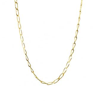 Eternity 9ct Gold 20'' Diamond Cut Solid Rada Curb Chain