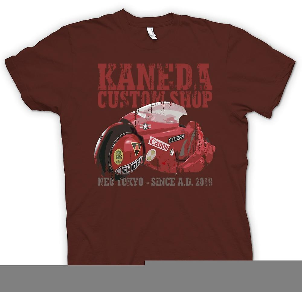 Mens T-shirt - Kaneda Custom Shop - Neo Tokyo - Akira