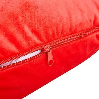 Snipe case Red Velour to Body pillow Eleonora U-shape