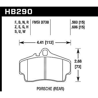Hawk Performance HB290N.606 HP Plus