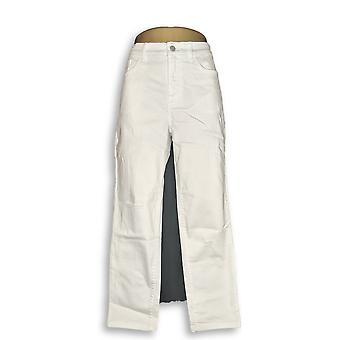 Denim & Co. Women's Jeans Studio Classic Denim White A304475