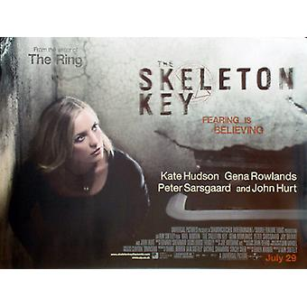 Skeleton Key (Double Sided) Original Cinema Poster