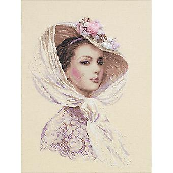 Lilac Evening Counted Cross Stitch Kit 11.75