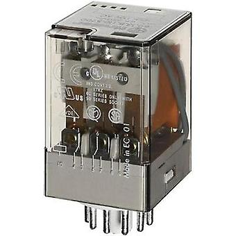 Plug-in relay 230 Vac 10 A 3 change-overs Finder 6