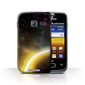 STUFF4 Case/Cover for Samsung Galaxy Y Duos/S6102/Yellow Planet/Space/Cosmos