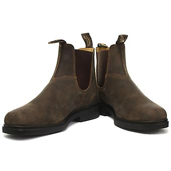 Blundstone 1306 Chisel Toe Brown Unisex Chelsea Boots