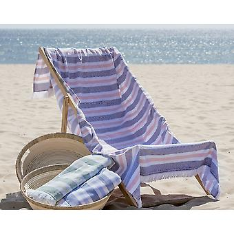 Hammam Streifen Strand Handtuch 100 % Baumwolle 100x180cm.