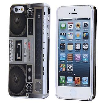 Dekk med radio med gamle kolonner for iPhone 5
