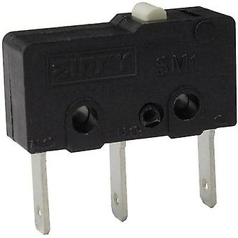 Microswitch 250 Vac 6 A 1 x On/(On) Zippy SM1-N6S-00B0-Z momentary 1 pc(s)