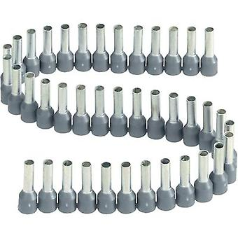 Ferrule 1 x 2.50 mm² x 8 mm Partially insulated Grey Vogt Verbindungstechnik 470508.00050 1 pc(s)