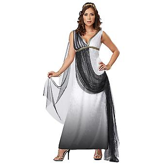 Deluxe Roman Empress Greek Goddess Women Costume