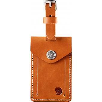Fjallraven Leather Luggage Tag (Leather Cognac)