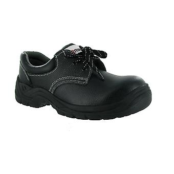 Centek FS337 Mens Safety Shoes Workwear Textile Leather Rubber Lace Up Fastening