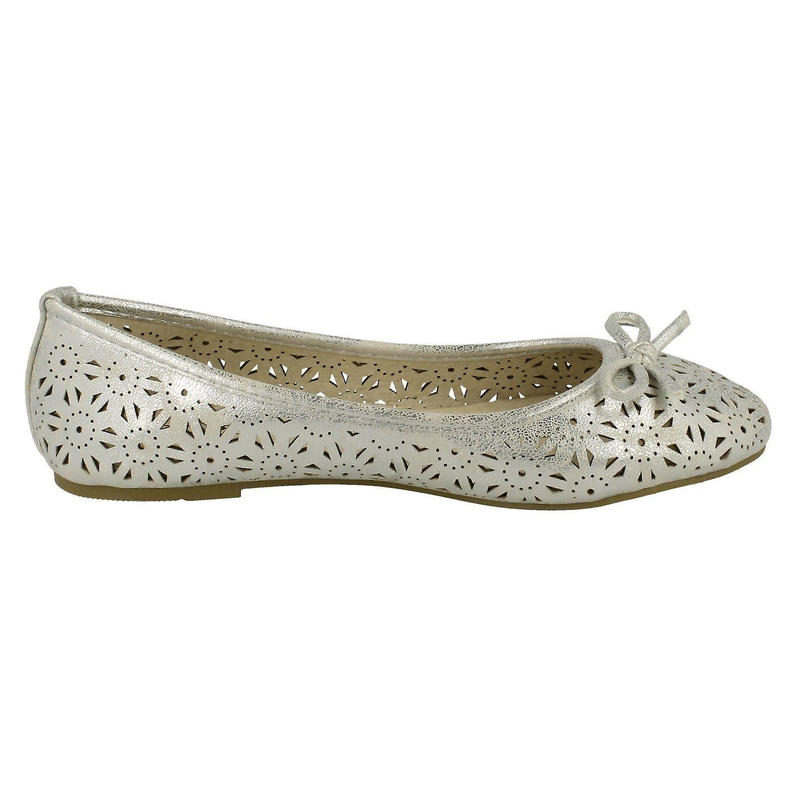 On Ballerina Shoes On Slip Spot F80037 Ladies fRqwBB