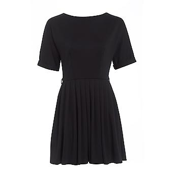 Asos Pleated Skater Dress