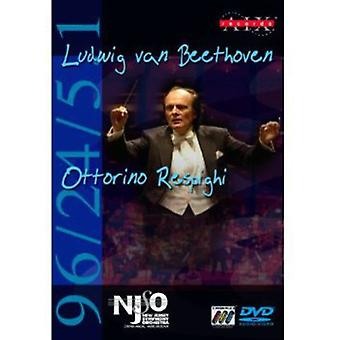 Beethoven/Respighi - Beethoven: Symfoni No. 6; Respighi: Pines af Rom [DVD Audio + DVD Video] [DVD-Audio] USA import