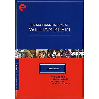 Delirious Fictions of William Klein [DVD] USA import