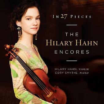 Hilary Hahn - In 27 Pieces: The Hilary Hahn Encores [CD] USA import