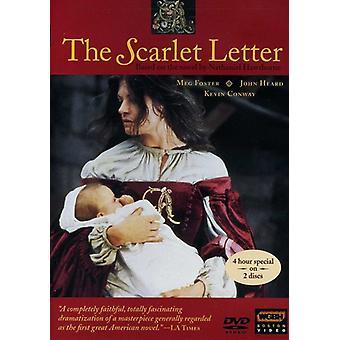 Scarlet Letter [DVD] USA importerer