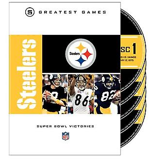 Pittsburgh Steelers Super Bowls [DVD] USA importerer