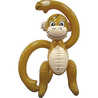 Inflatable monkey 61cm inflatable monkey Deco Hula Hawaii party