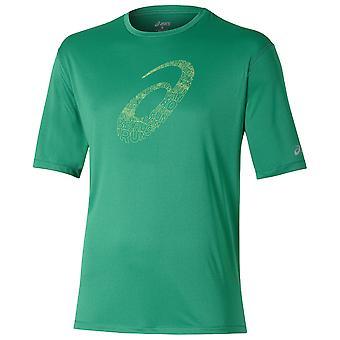 ASICS heren SS grafische top shirt - 121652-5007