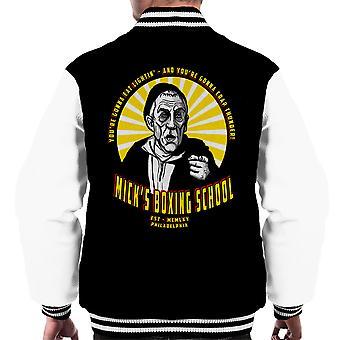 Micks Boxing School Rocky Men's Varsity Jacket