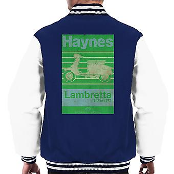 Haynes Owners Workshop Manual Lambretta 47 tot en met 72 verdrietig mannen Varsity Jacket